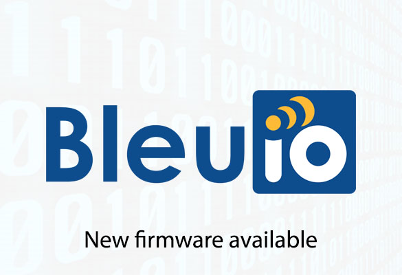 A new firmware update (v 1.2.0) has been released for BleuIO