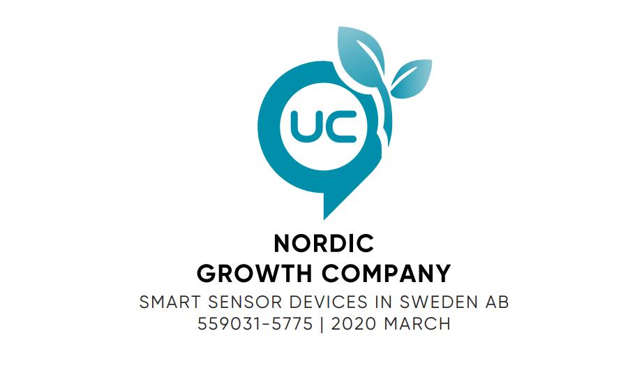 UC awards Smart Sensor Devices the Nordic Growth Company award