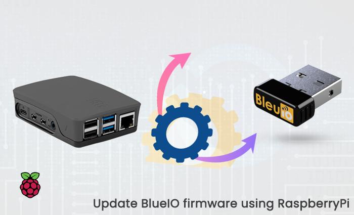 Update BlueIO firmware using RaspberryPi